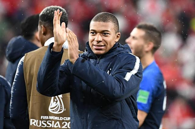 Kylian Mbappe scored the only goal of the game as France beat Peru (AFP Photo/FRANCK FIFE)