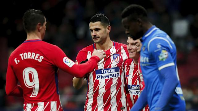 Vitolo's strange response to a question about Fernando Torres' future sparked controversy, forcing the Atletico Madrid man to apologise.