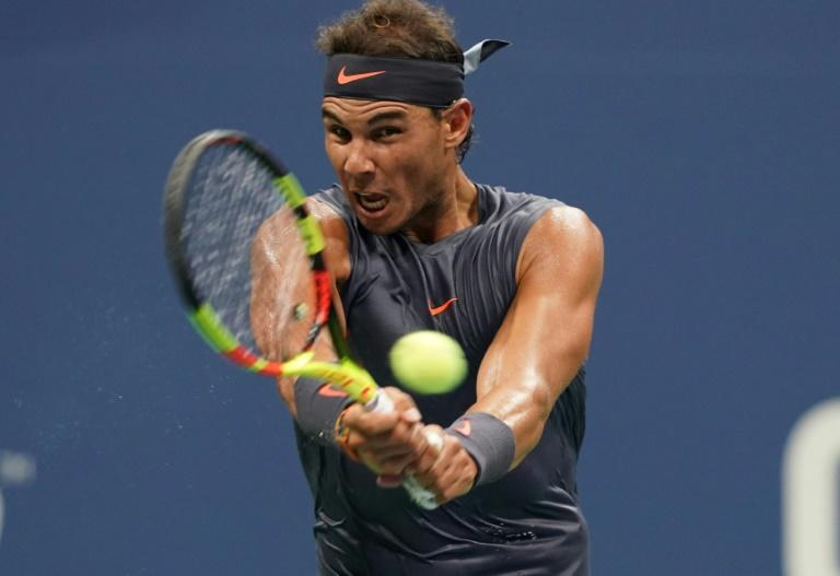 Power-packed: Rafael Nadal