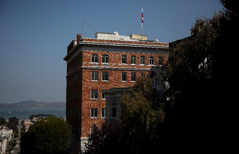 Russia says the FBI plans to carry out a search of its San Francisco consulate, which Washington has ordered closed (AFP Photo/JUSTIN SULLIVAN)