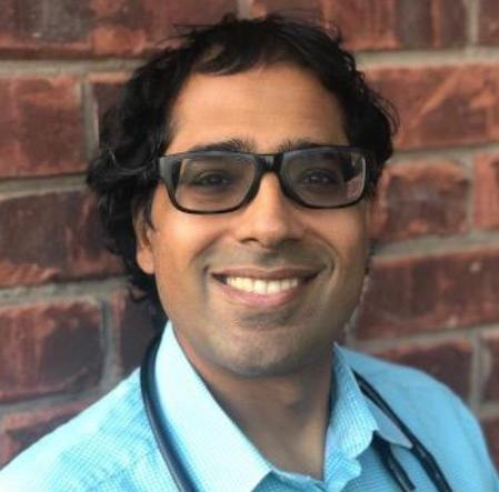 Dr. Amit Arya is a palliative care physician working on the frontline during the COVID-19 pandemic in Ontario.