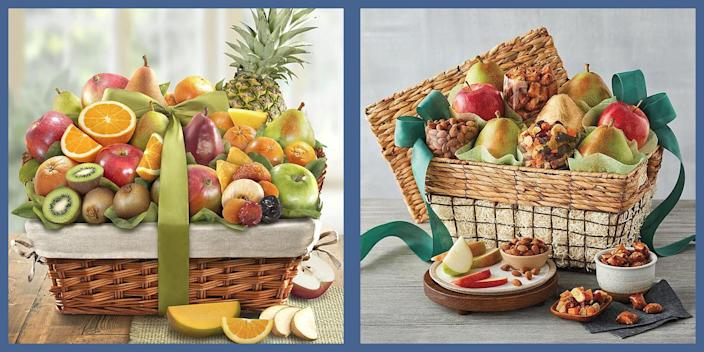 """<p>There's a reason fruit baskets have become the go-to goodwill gift over the years. They're delicious, they always fit, and honestly is there anyone who doesn't appreciate a good old fashioned serving of fruit—perhaps amplified with a few extra goodies to sweeten the deal? Whether you're looking for a more tangible way to say congratulations, tank you, or """"I'm thinking of you"""", a fruit basket is always a strong option. And with more chances to order them online available now than ever, it's even easier to send a slice of fruity goodness to everyone on your list. </p><p>Here, some of the very best delivery services for fruit baskets from across the web. </p>"""