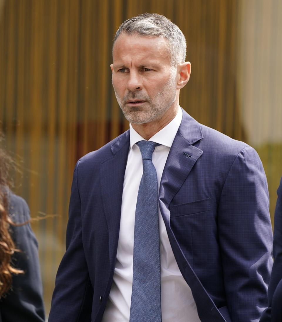 Former Manchester United footballer Ryan Giggs (Peter Byrne/PA) (PA Wire)