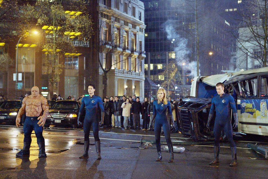 "6. FANTASTIC FOUR  Total Domestic Gross: $286,617,818   <a href=""http://movies.yahoo.com/movie/1808403968/info"">Fantastic Four</a> (2005) - $154,696,080  <a href=""http://movies.yahoo.com/movie/1809699127/info"">Fantastic Four: Rise of the Silver Surfer</a> (2007) - $131,921,738"