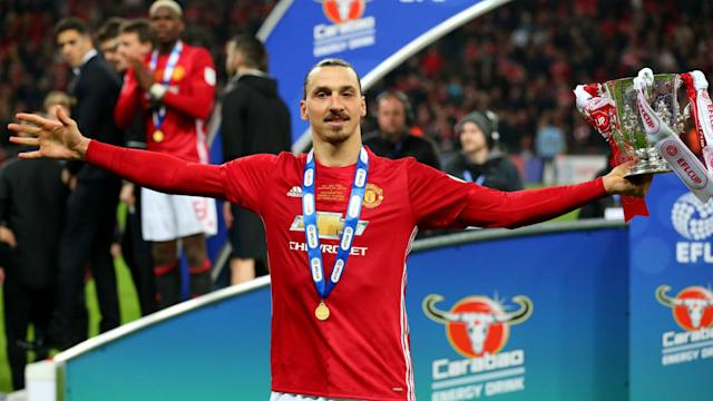 "Manchester United striker Zlatan Ibrahimovic wants to ""win bigger"" with the club but has not issued a Champions League ultimatum."