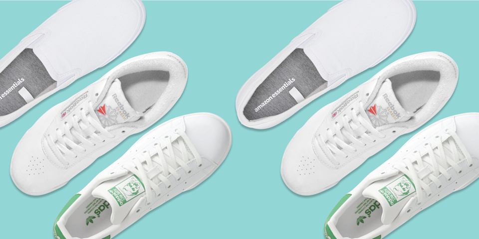 "<p>Season after season, white sneakers continue to be a closet staple among celebrities, fashion icons and everyday stylish women. They're easy to pair with summer dresses, jeans, <a href=""https://www.goodhousekeeping.com/clothing/g31989983/best-athleisure-wear-brands/"" rel=""nofollow noopener"" target=""_blank"" data-ylk=""slk:activewear"" class=""link rapid-noclick-resp"">activewear</a> and so much more. You can nearly throw a pair of white sneakers with any outfit and it'll instantly look cooler and chicer. But, these picks aren't just fashion forward — they're also wildly <a href=""https://www.goodhousekeeping.com/clothing/g33264582/most-comfortable-shoes/"" rel=""nofollow noopener"" target=""_blank"" data-ylk=""slk:comfortable for all day wear"" class=""link rapid-noclick-resp"">comfortable for all day wear</a>. </p><p>The <a href=""https://www.goodhousekeeping.com/institute/about-the-institute/a19748212/good-housekeeping-institute-product-reviews/"" rel=""nofollow noopener"" target=""_blank"" data-ylk=""slk:Good Housekeeping Institute"" class=""link rapid-noclick-resp"">Good Housekeeping Institute</a> Textiles Lab puts sneakers to the test by having testers wear them when walking and exercising to give feedback on fit and comfort. Plus, we cut each sneaker in half, so podiatrists can comment on the footbed too. In our latest <a href=""https://www.goodhousekeeping.com/health-products/g26960479/best-walking-shoes-for-women/"" rel=""nofollow noopener"" target=""_blank"" data-ylk=""slk:walking sneaker"" class=""link rapid-noclick-resp"">walking sneaker</a> test, we had over 500 data points to analyze from 150 workout sessions to determine the top performing brands. </p><p>Shop the<strong> best white sneakers for women</strong> of 2021 to complete your summer wardrobe: </p>"