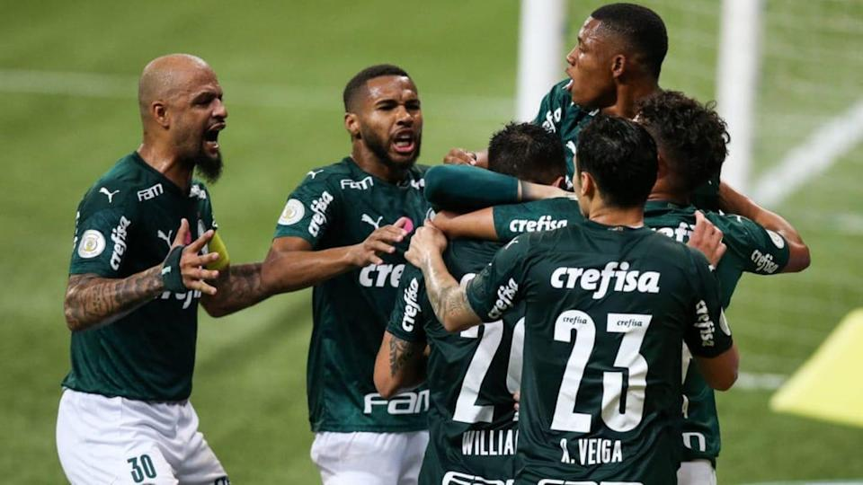 2020 Brasileirao Series A: Palmeiras v Ceara Play Behind Closed Doors Amidst the Coronavirus (COVID | Alexandre Schneider/Getty Images