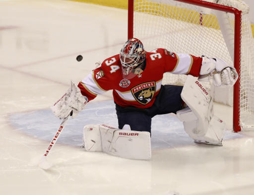 Hurricanes acquire Reimer in swap of goalies with Panthers | AP sports