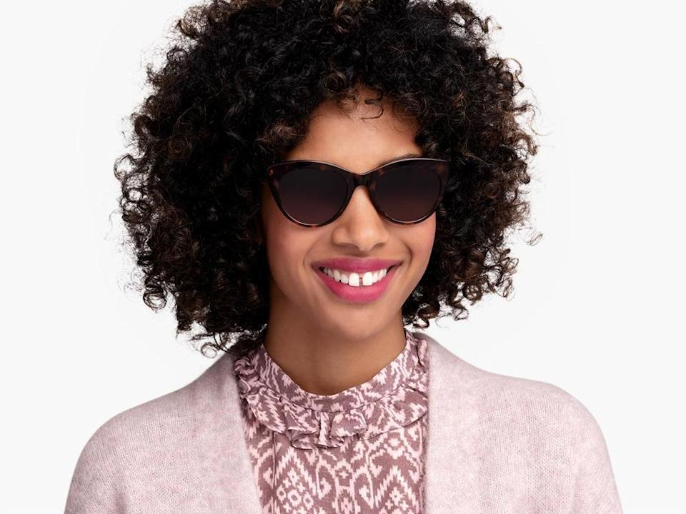 """<p><strong>Warby Parker</strong></p><p>warbyparker.com</p><p><strong>$95.00</strong></p><p><a href=""""https://go.redirectingat.com?id=74968X1596630&url=https%3A%2F%2Fwww.warbyparker.com%2Fsunglasses%2Fwomen%2Ftilley-lbf%2Fpetal-tortoise&sref=https%3A%2F%2Fwww.thepioneerwoman.com%2Ffashion-style%2Fg36003005%2Fbest-cat-eye-sunglasses%2F"""" rel=""""nofollow noopener"""" target=""""_blank"""" data-ylk=""""slk:Shop Now"""" class=""""link rapid-noclick-resp"""">Shop Now</a></p><p>There's no reason practical can't be pretty: You can upgrade these Warby Parker sunnies with your glasses prescription. </p>"""
