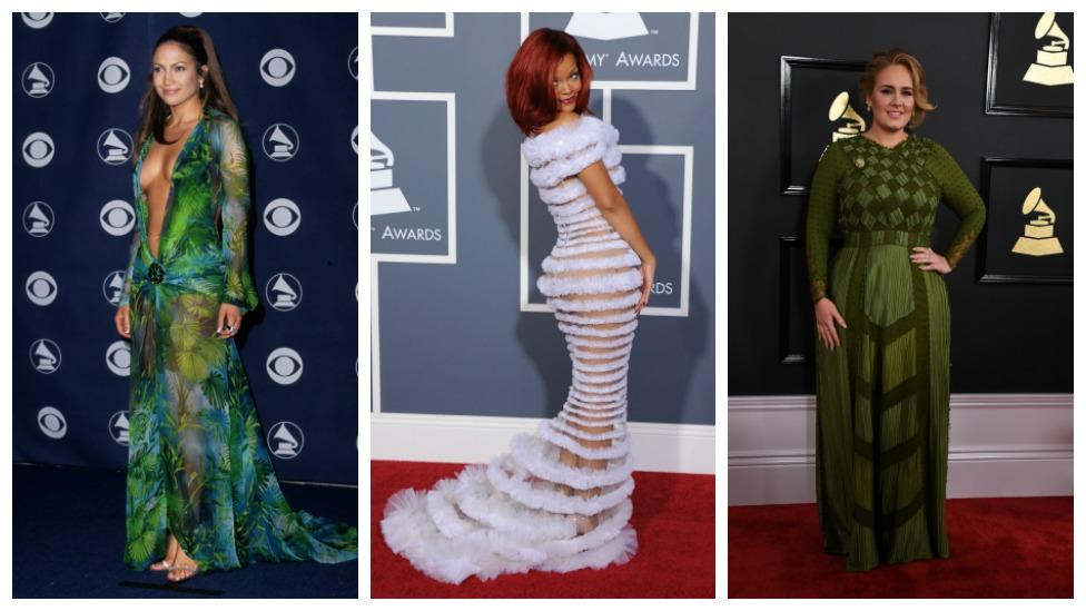 <p>Take a look back at all of the moments that wowed on the red carpet, from Cher and Dolly Parton back in the day to Adele and Rihanna's fresh looks. Source: Getty Images </p>