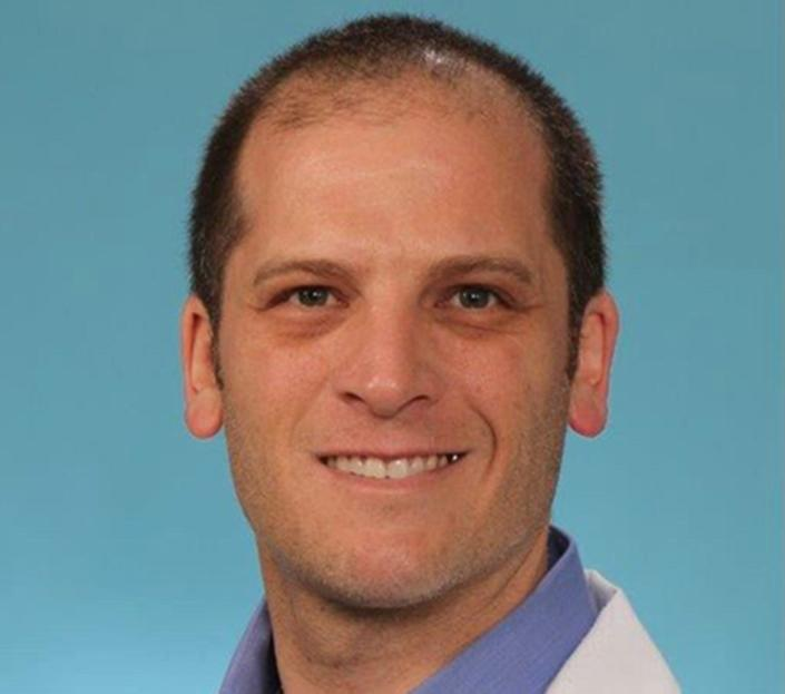 Dr. Jacob Keeperman, executive medical director of the Renown Transfer and Operations Center.