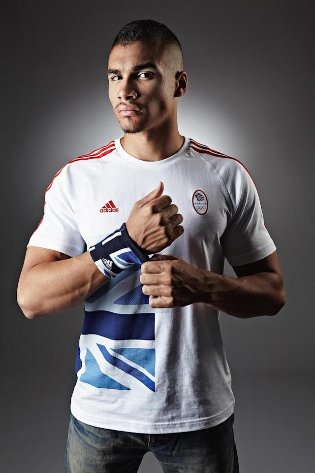 In this handout image from adidas, Team GB gymnast Louis Smith pictured in adidas Team GB London 2012 Olympic kit in London, England. (Photo by adidas via Getty Images)