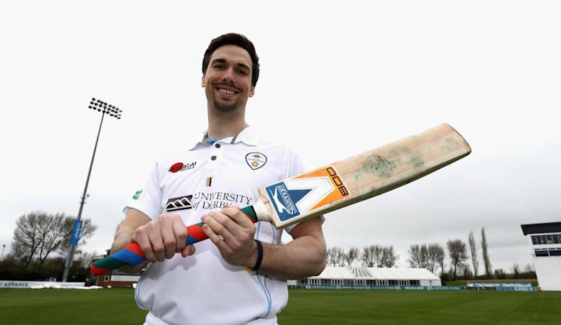 Derbyshire captain Billy Godleman ready for the new season at The 3aaa County Ground