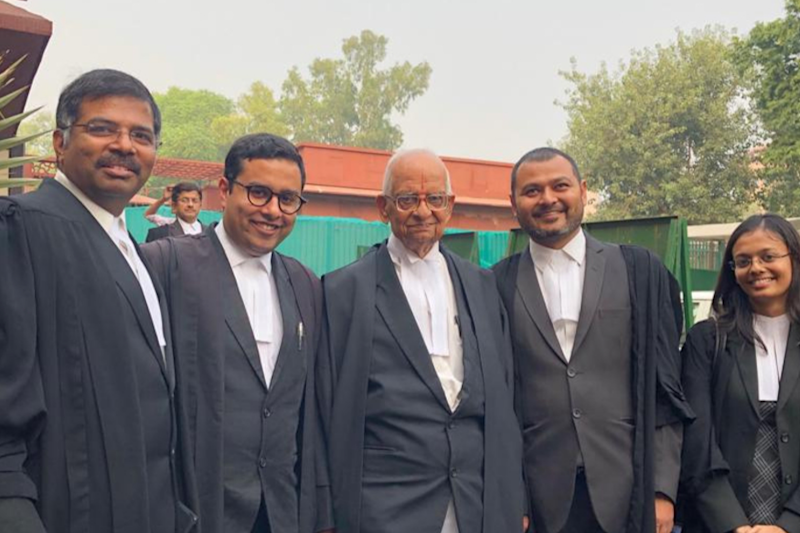 K Parasaran, the 93-year-old Advocate For Hindus Whose Spiritual Connect With Ram Kept Him Going