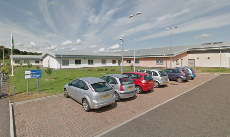 The Kingspark School in Dundee is closed after a coronavirus outbreak. (Google)