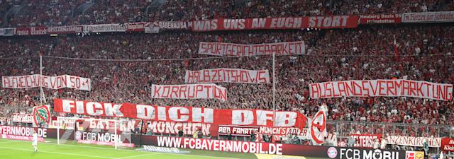 Bayern-Fans contra DFB