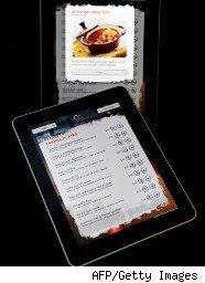 iPads showing different displays