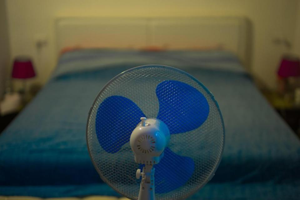 'In autumn/winter, we started to miss drifting off to the noise of the fan.'