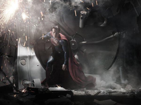 """Man Of Steel"" to be in 3D & IMAX"