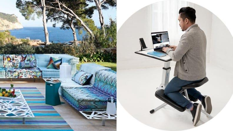 Working from outside should equally as functional–and comfortable–as working from inside.