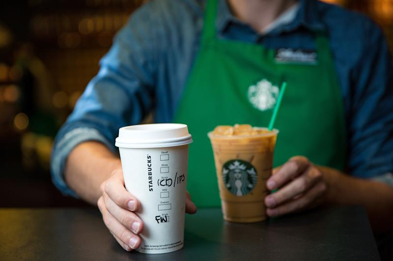 You don't have to buy a coffee to sit at Starbucks, but you still can't nap there