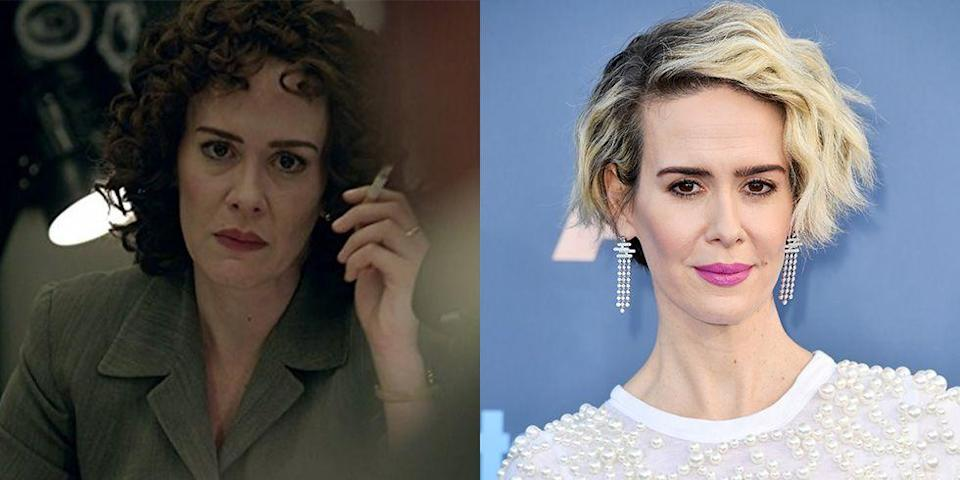 <p>When Sarah Paulson took on the role of O.J. Simpson's prosecutor in <em>American Crime Story </em>season 1, she committed to replicating the lawyer's '90s eyebrows, chain-smoking habits, and perm — and she was rewarded for it with a Golden Globe. </p>