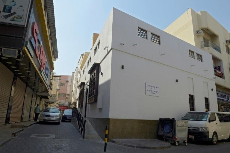 Bahrain's only synagogue, the House of Ten Commandments in the capital Manama, was recently renovated (AFP/Mazen Mahdi)