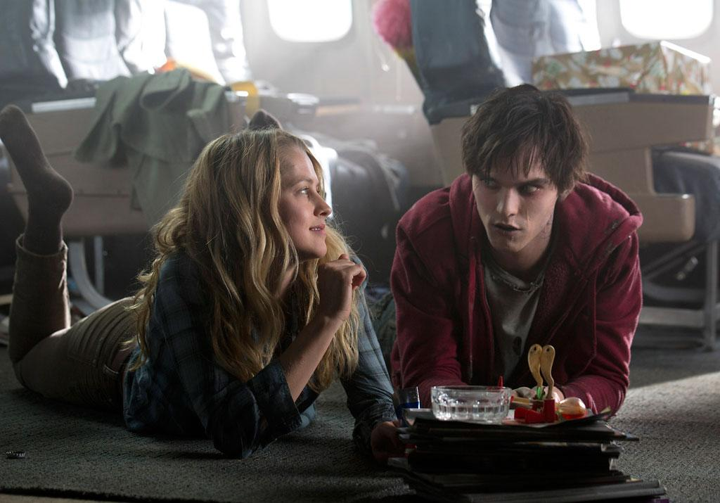 Teresa Palmer and Nicholas Hoult in Summit Entertainment's 'Warm Bodies' - 2013