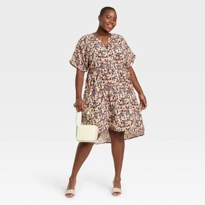 <p>Got a brunch date coming up? The <span>Ava &amp; Viv Short Sleeve Shirtdress</span> ($28) has you covered.</p>