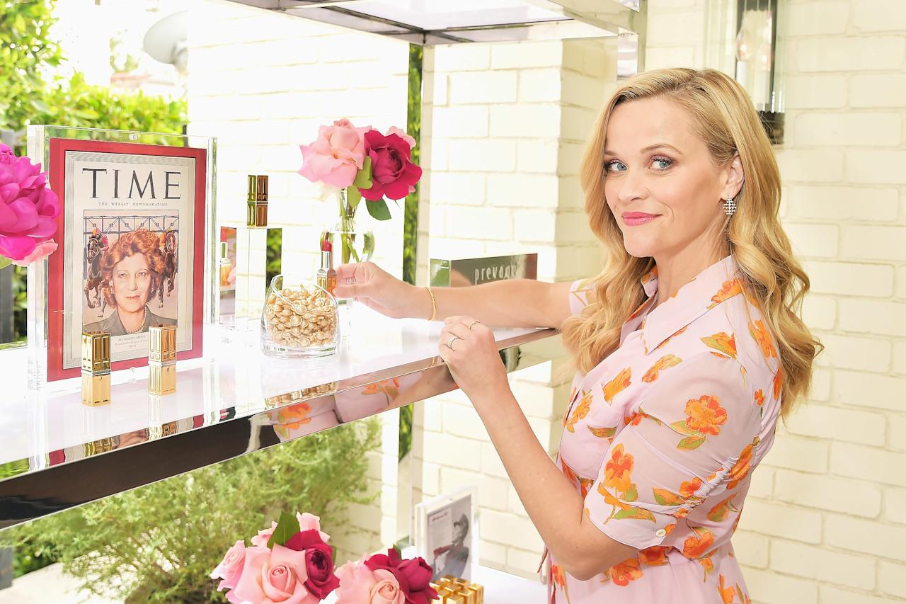 Reese Witherspoon hosts the Elizabeth Arden Garden Party on Wednesday in Beverly Hills.