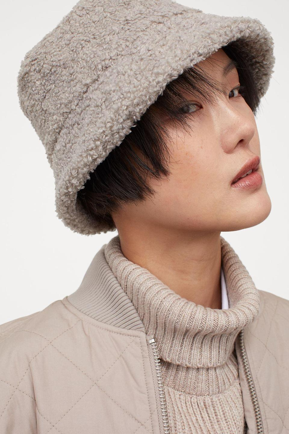<p>Gray-lovers will obsess over this <span>Bucket Hat</span> ($14, originally $18).</p>