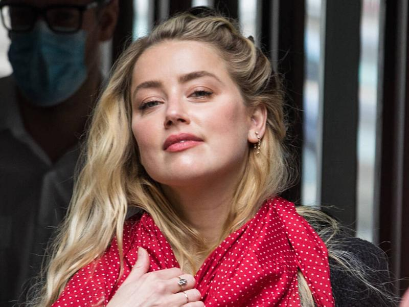Amber Heard's friend feared for actress' life