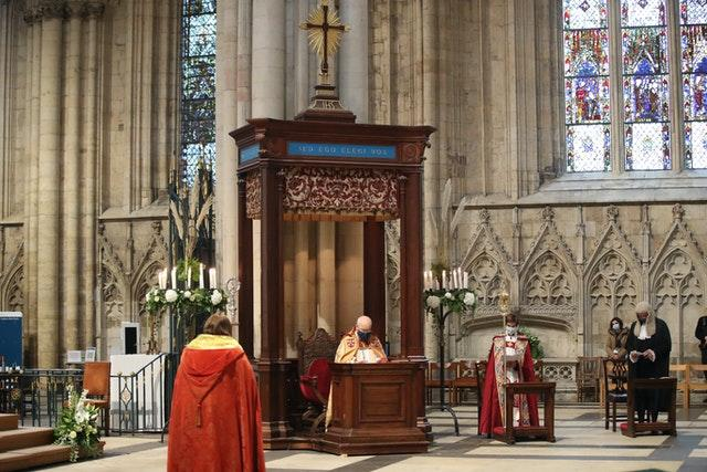 98th Archbishop of York enthroned