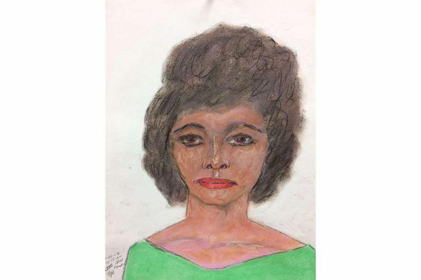 PHOTO: A sketch drawn by convicted serial killer Samuel Little of one of his victims, a black female between 28 to 29-years-old killed in 1984 in Arkansas. Little picked her up in Memphis, Tenn. (FBI)