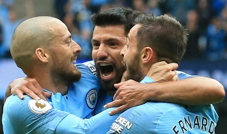 Manchester City's Sergio Aguero hopes for more celebrations against Newcastle