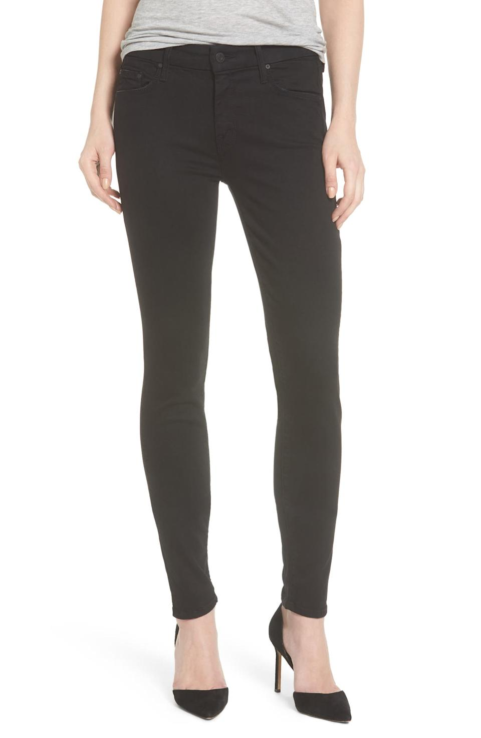 Mother 'The Looker' Mid Rise Skinny Jeans. Image via Nordstrom.