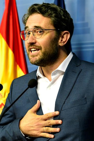 Spanish minister of culture and sports Maxim Huerta resigned after it emerged he had been fined for tax fraud last year