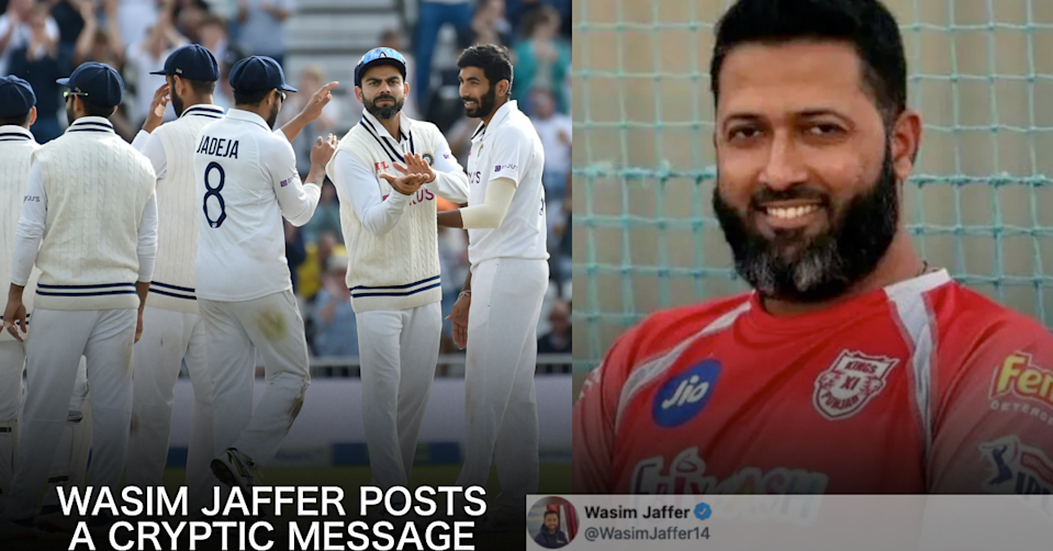 Wasim Jaffer Posts A Cryptic Message, Asks Indian Team To Add This Player In Playing XI For 3rd Test