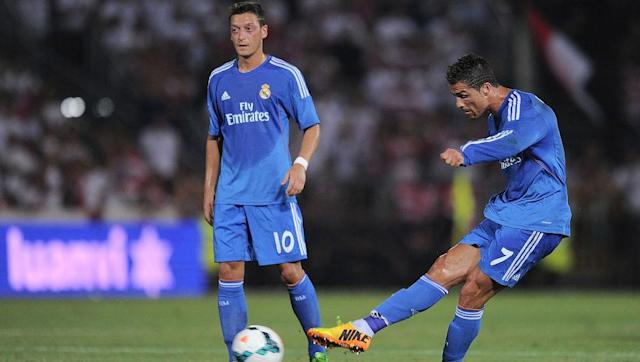 <p>Arsenal's record £40m signing until recently after Alexandre Lacazette signed in the summer, Real Madrid parted way with their playmaker in a questionable move which the likes of Cristiano Ronaldo couldn't believe. </p> <br><p>Signed in 2010 following a scintillating World Cup, Mesut Ozil instantly looked at home in La Liga, cutting opponents apart at will with magnificent through balls for the likes of Ronaldo and Karim Benzema.</p> <br><p>Only one La Liga title in a three-year spell justifies his sale, as Real Madrid used the money from his departure to fund a then world-record £85m capture of Gareth Bale.</p>