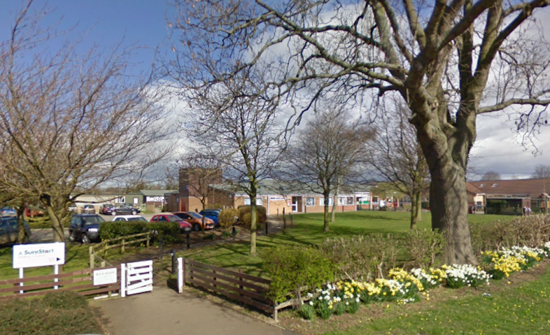 The incident happened at Thirsk Community Primary School (Picture: Google)