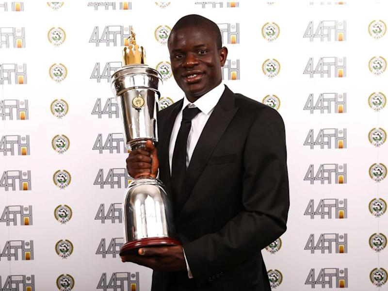 N'Golo Kante named PFA Player of the Year and rightly so, he's been Chelsea's one true constant this season