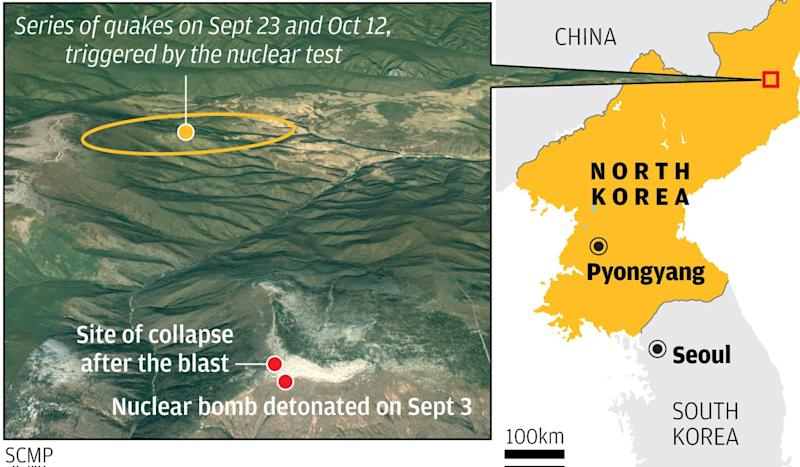 North Korea's nuclear test site has collapsed ... and that may be why Kim Jong-un suspended tests