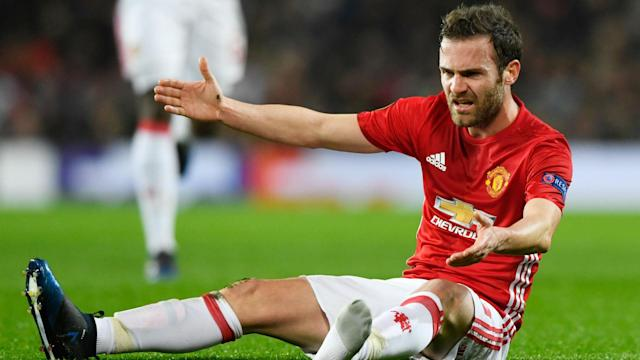 "Following news Chris Smalling and Phil Jones will be ""long-term"" absentees, Manchester United star Juan Mata has undergone groin surgery."