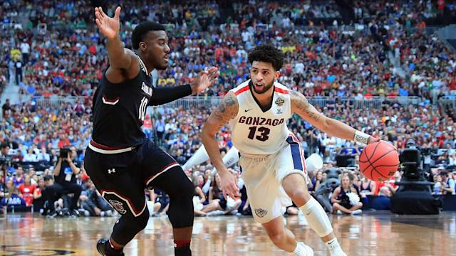 Gonzaga coach Mark Few went with a gut feeling to foul South Carolina in the waning moments of the first Final Four game. It worked perfectly.