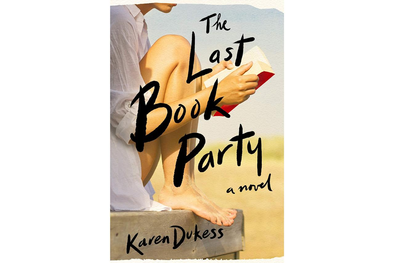 "<p>To buy: $18, <a href=""http://www.amazon.com/Last-Book-Party-Karen-Dukess/dp/1250225477/?ie=UTF8&camp=1789&creative=9325&linkCode=as2&creativeASIN=1250225477&tag=coastalivi07-20&ascsubtag=d41d8cd98f00b204e9800998ecf8427e"" target=""_blank"">amazon.com</a></p> <p><em>The Last Book Party</em> is a propulsive tale about aspiring writer Eve Rosen as she tries to break into the 1980s publishing industry in New York. In the midst of a complicated summer romance, Eve forges valuable relationships that help her move up in the literary world. As Eve discovers unsavory truths about the industry she adores, she is forced to discard her naïve illusions and find a voice of her own.</p>"