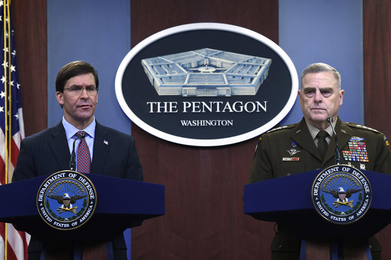 'Mistake': Pentagon says Iraq withdrawal letter was not authorized