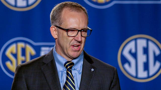 SEC commissioner Greg Sankey says a new piece of gun legislation in Mississippi could hinder the league's sporting events.