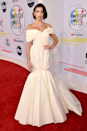 """<p>Is anyone else getting major bridal vibes from this gloriously extra Giambattista Valli dress, at the <a href=""""https://www.cosmopolitan.com/uk/fashion/celebrity/g23699522/american-music-awards-2018-red-carpet/"""" rel=""""nofollow noopener"""" target=""""_blank"""" data-ylk=""""slk:2018 American Music Awards"""" class=""""link rapid-noclick-resp"""">2018 American Music Awards</a>?</p>"""