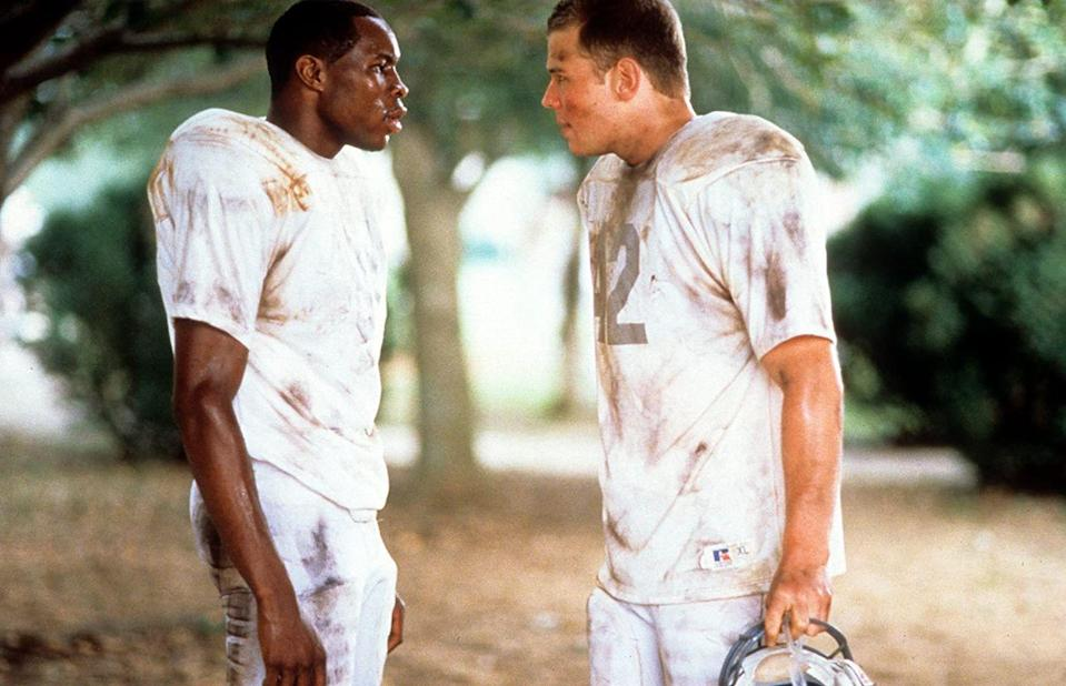 <p><strong>Movie:</strong> <em>Remember the Titans</em></p><p>Although Harris might've looked young enough to portray a high school football player in the 2000 hit, but he was actually 31 years old. </p>