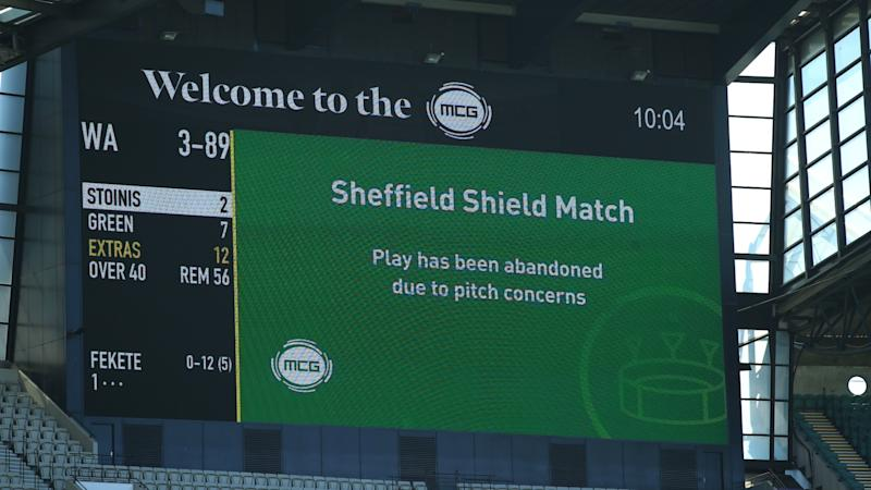 Shield match abandoned due to unsafe MCG wicket ahead of Boxing Day Test
